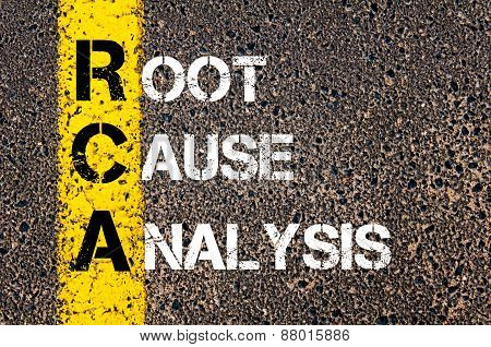 Acronym Rca - Root Cause Analysis