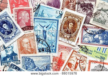 Argentina on stamps