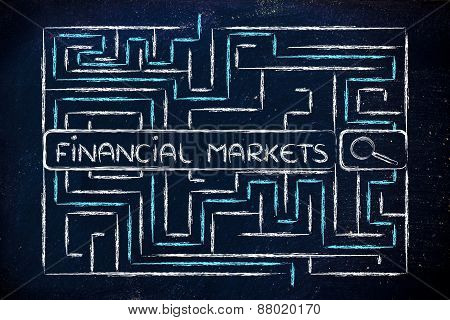 Maze With Search Tags About The Finanial Markets
