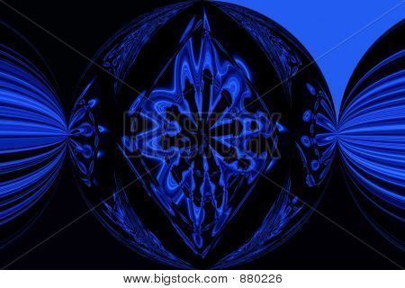 Blue Black Flash