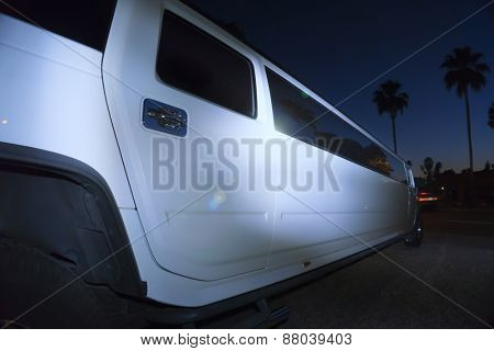 Luxury limo limousine night life
