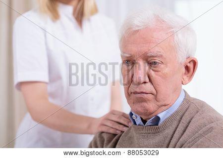 Desperate Sad Pensioner
