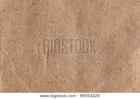 Brown Paper With Fibers