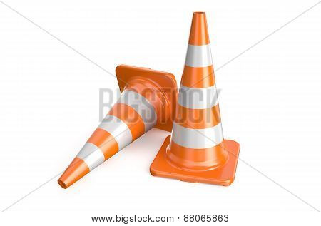 Two Road Cone