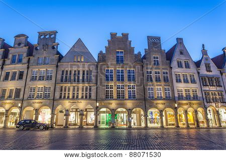 The Prinzipalmarkt In Muenster