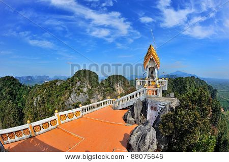 Temple On A Top Of Mountain