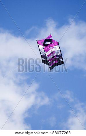 Flying box kite