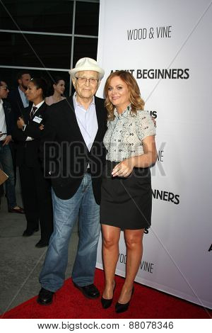LOS ANGELES - FEB 15:  Norman Lear, Amy Poehler at the