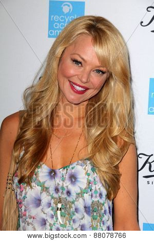 LOS ANGELES - FEB 15:  Charlotte Ross at the Kiehls Earth Day Creamy Eye Treatment at the Kiehls on April 15, 2015 in Santa Monica, CA