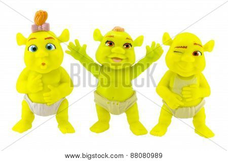 The Triplets Baby Ogre A Daughter A Daughter Of  Shrek And Fiona