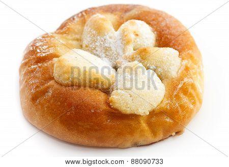 Traditional Czech Curd Pie
