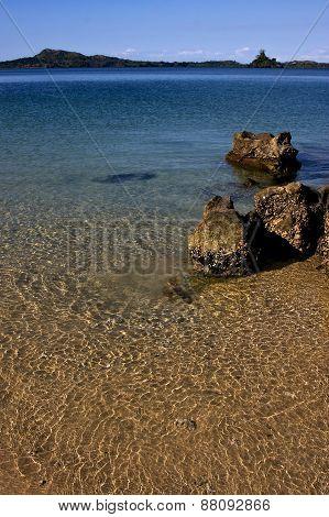 Rocks In Mamoko Bay