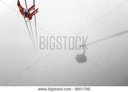 Reg Gondola Lift Inside Big Cloud