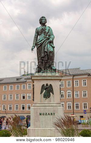 Mozart Statue, Salzburg