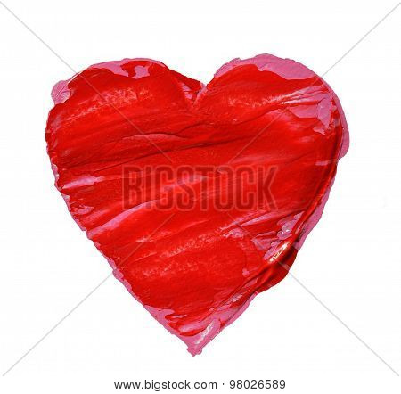 Big red heart.
