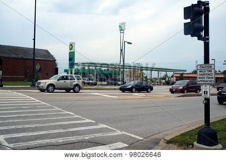 BP Gasoline Station
