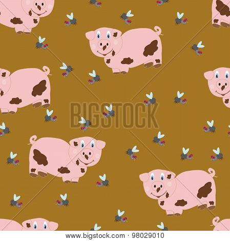 Pig And Flies