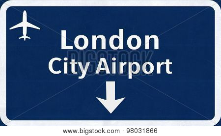 London England United Kingdom City Airport Highway