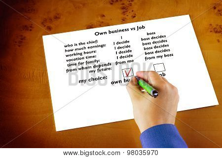 Advantages Of Starting Your Own Business Over To Job