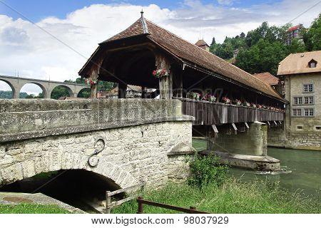 Bern Bridge -pont De Berne, Switzerland