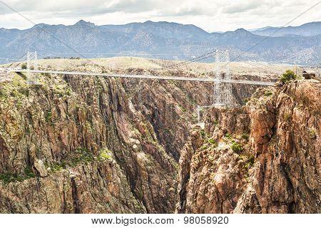Royal Gorge Suspension Bridge Canon City Colorado poster