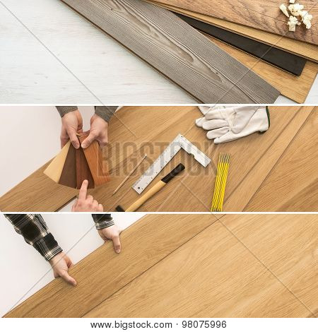 Flooring Installation At Home