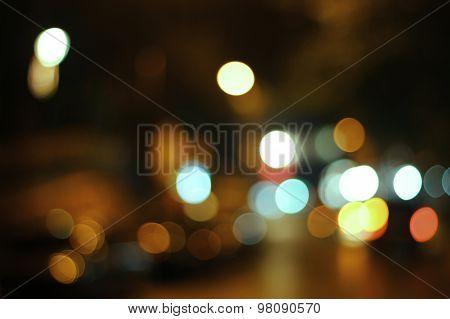 Blurred Lights Set 6