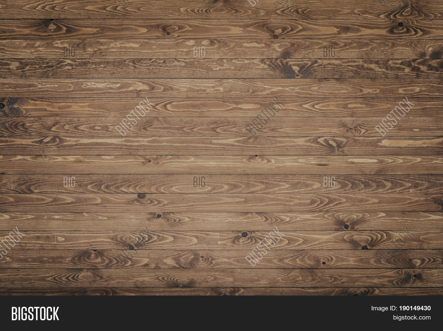 Rustic Wood Texture Background Top View Vintage Table