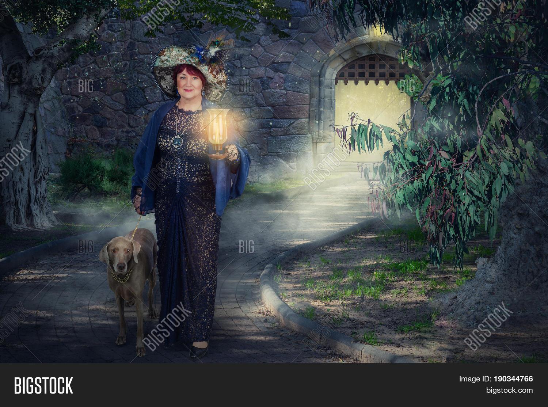 Older Fairy Lamp Image Photo Free Trial Bigstock