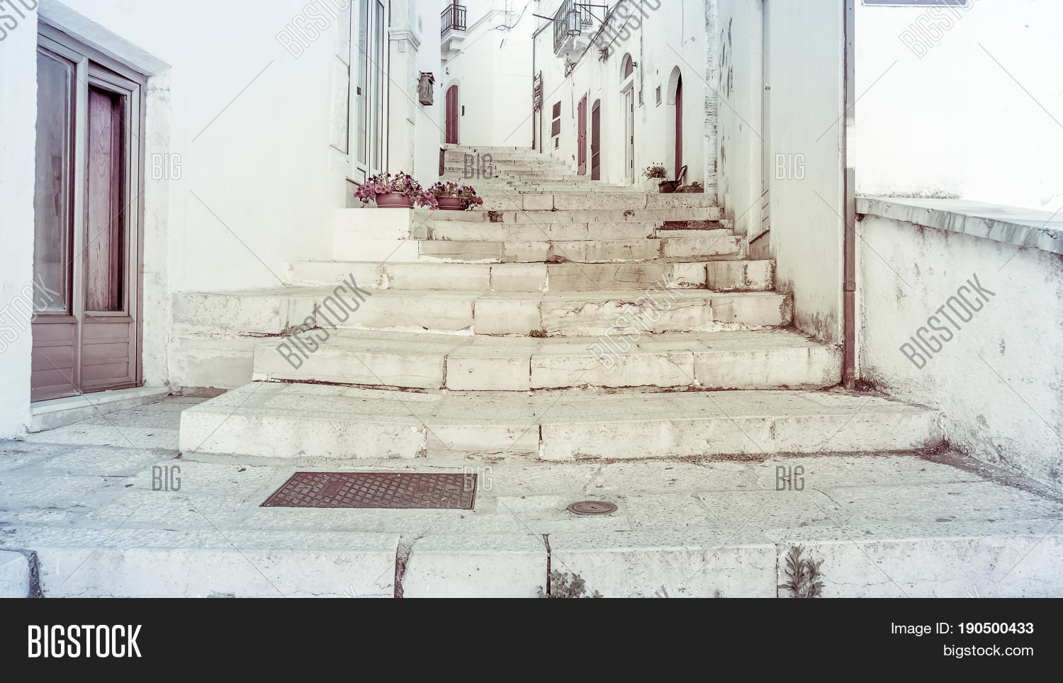 Steps Long Staircase Image Photo Free Trial Bigstock