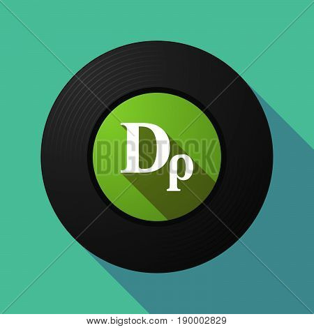 Long Shadow Music Disc With A Drachma Currency Sign