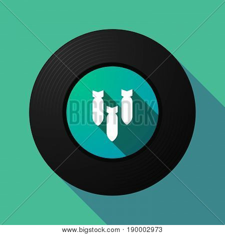 Long Shadow Music Disc With Three Bombs Falling