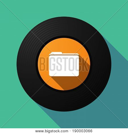 Long Shadow Music Disc With A Folder