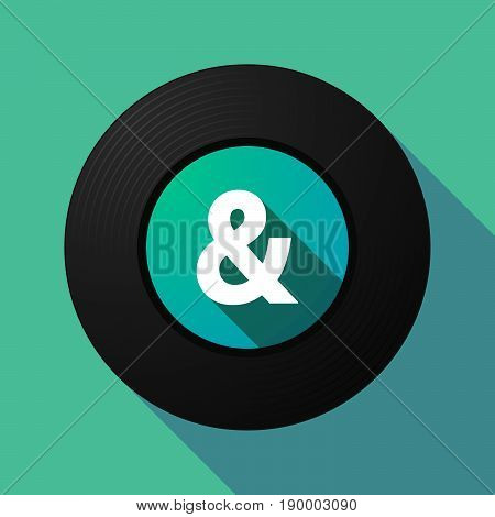 Long Shadow Music Disc With An Ampersand