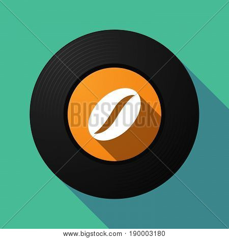 Long Shadow Music Disc With A Coffee Bean