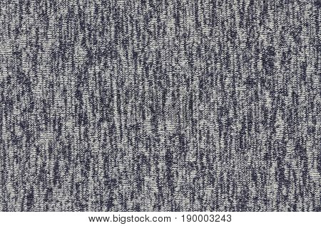Real Heather Knitted Fabric Made Of Synthetic Fibres Textured Background. Colored Fabric Texture. Ba