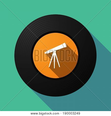 Long Shadow Music Disc With A Telescope