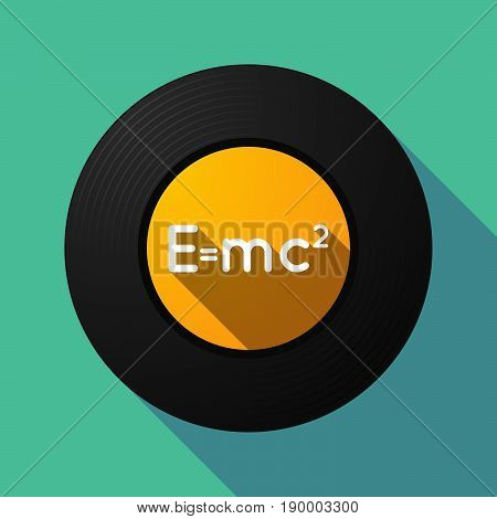 Long Shadow Music Disc With The Theory Of Relativity Formula