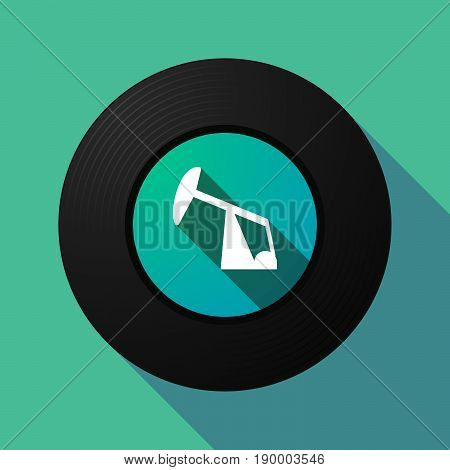 Long Shadow Music Disc With A Nuclear Power Station