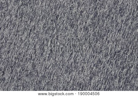 Close-up Of Heater And Knitted Jersey Fabric Textured Cloth Background With Delicate Striped Pattern