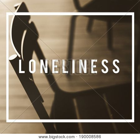 Loneliness Depression Alone Isolated Concept