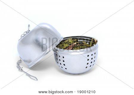 Opened tea Strainer