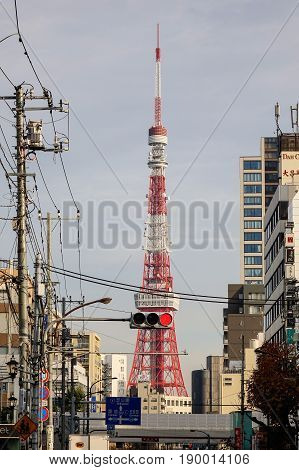 Cityscape With Tokyo Tower