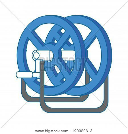 Reel winder tool icon vector illustration graphic design