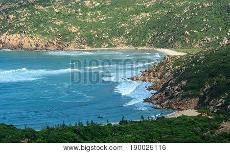 Seascape At Summer In Nha Trang, Vietnam