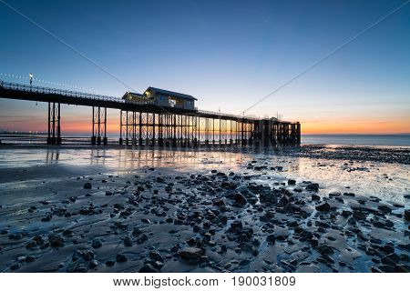 Dawn At Penarth Pier