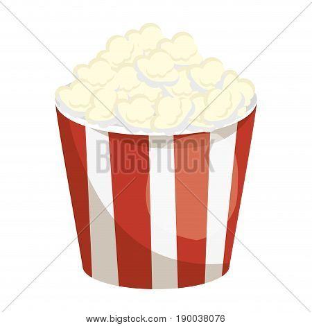 Cinema pop corn icon vector illustration graphic design