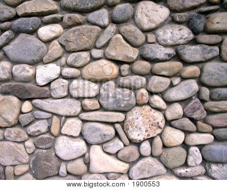 River Rock Wall
