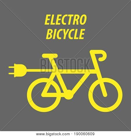 Sport bicycle bike style icon vector illustration EPS 10