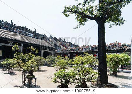 Courtyard Of Guangdong Folk Art Museum